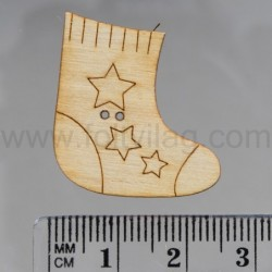 Sock with stars