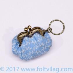 Heart frame purse kit step...