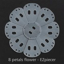 8 Petals flower